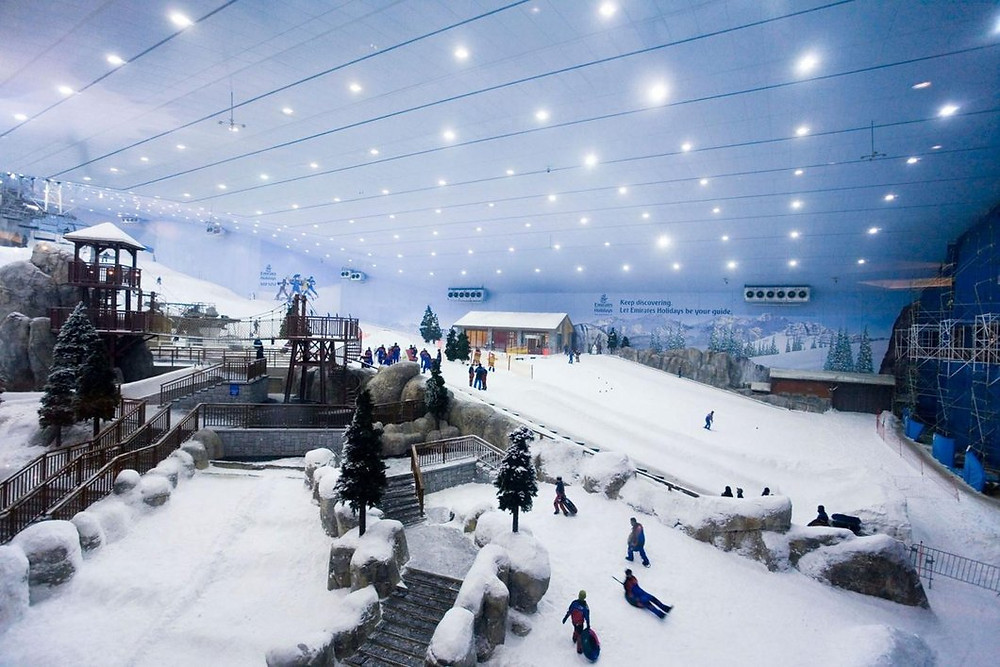Ski Dubai - indoor skiing at Mall Of The Emirates