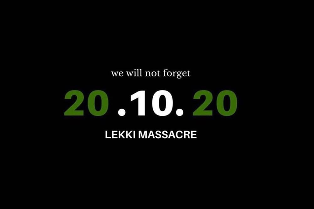 20.10.10 Lekki Massacre #EndSARS