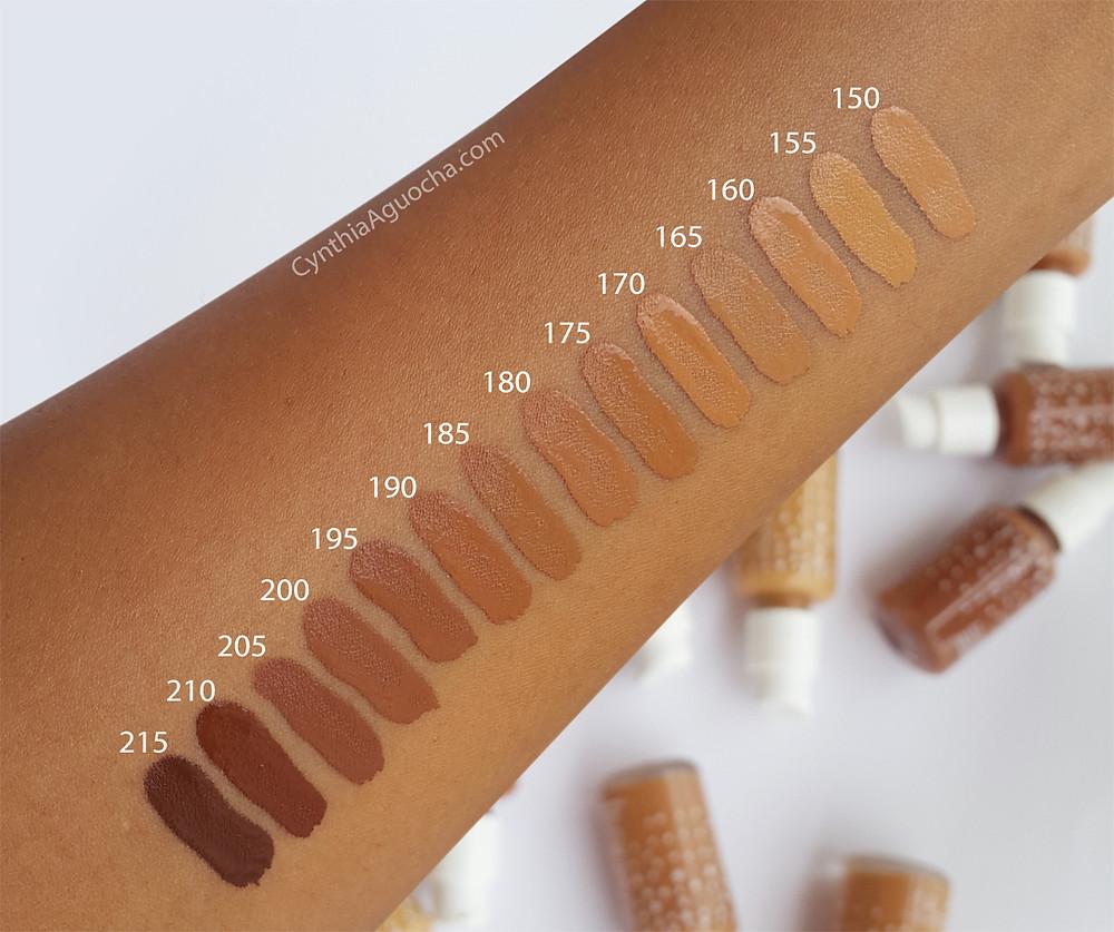 Colourpop foundation shades for dark skin