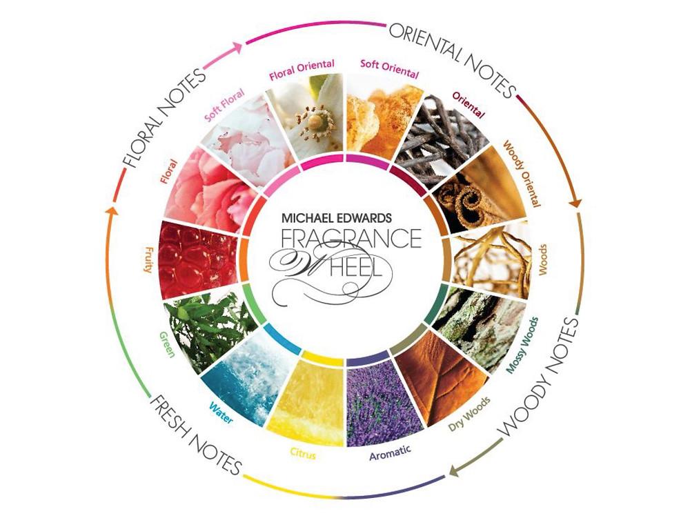 Fragrance Wheel / Fragrance Family