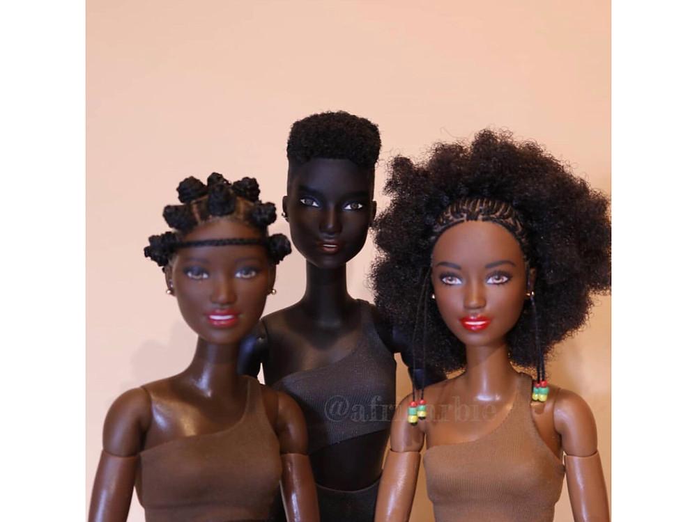 Africarbie - brown skin girls