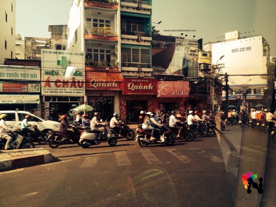 Streets of Ho Chi Minh City