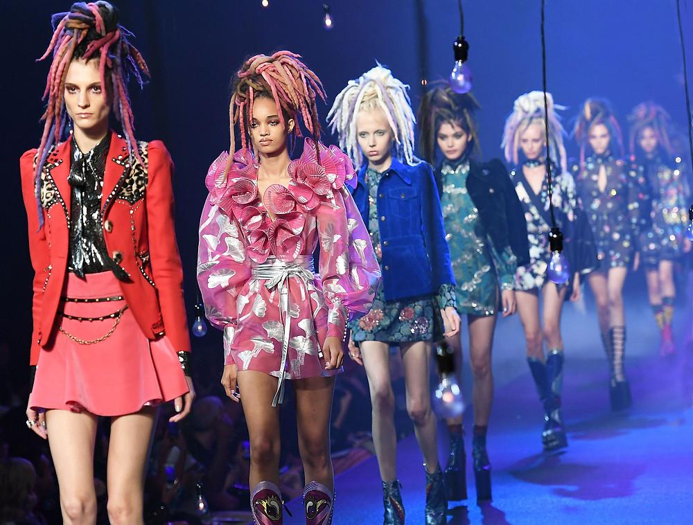 Marc Jacobs Fashion Show - Dreadlocks
