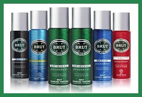 Brut natural deodorant spray