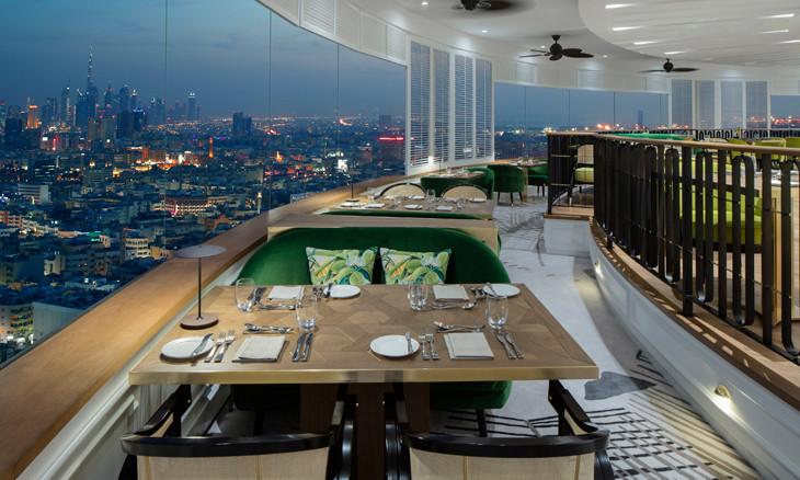 Al Dawaar Revolving Restaurant, Hyatt Regency Dubai
