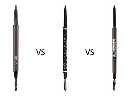 BATTLE OF THE EYEBROW PENCILS: MAC vs NYX vs MAYBELLINE