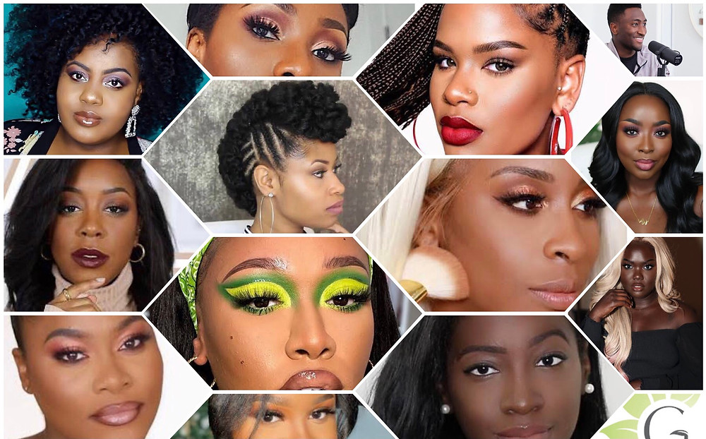 Black Youtubers - Jackie Aina, Tammi Clarke, Nella Rose, Too Much Mouth, The Chic Natural, Dimma Umeh, Green Beauty, Marques Brownlee, Nyma Tang, Alissa Ashley, Mena Adubea, Tyerra Brown, SheRea DelSol, Andrea Renee