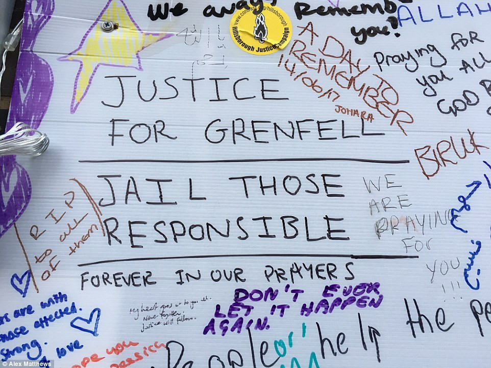 Grenfell Tower Memorial Wall (The Guardian)