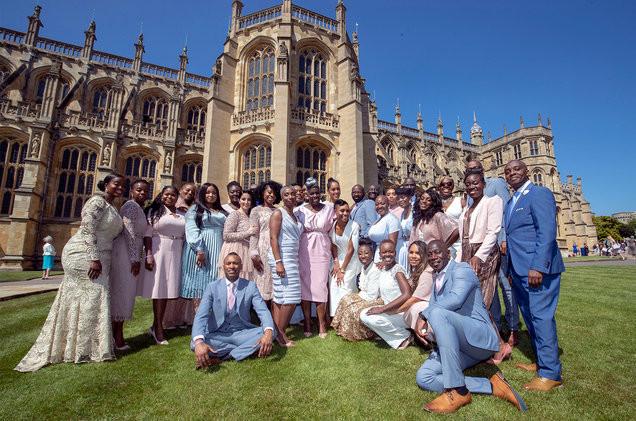 Karen Gibson and The Kingdom Choir Royal Wedding