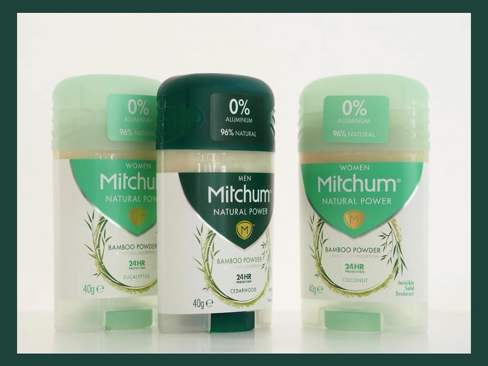 Mitchum Natural Power - coconut, cedarwood, eucalyptus