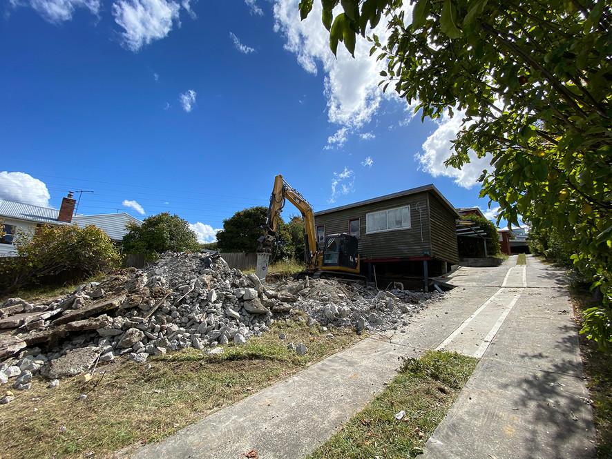 Demolition Work Started