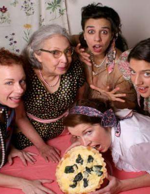5 Lesbians Eating a Quiche 2