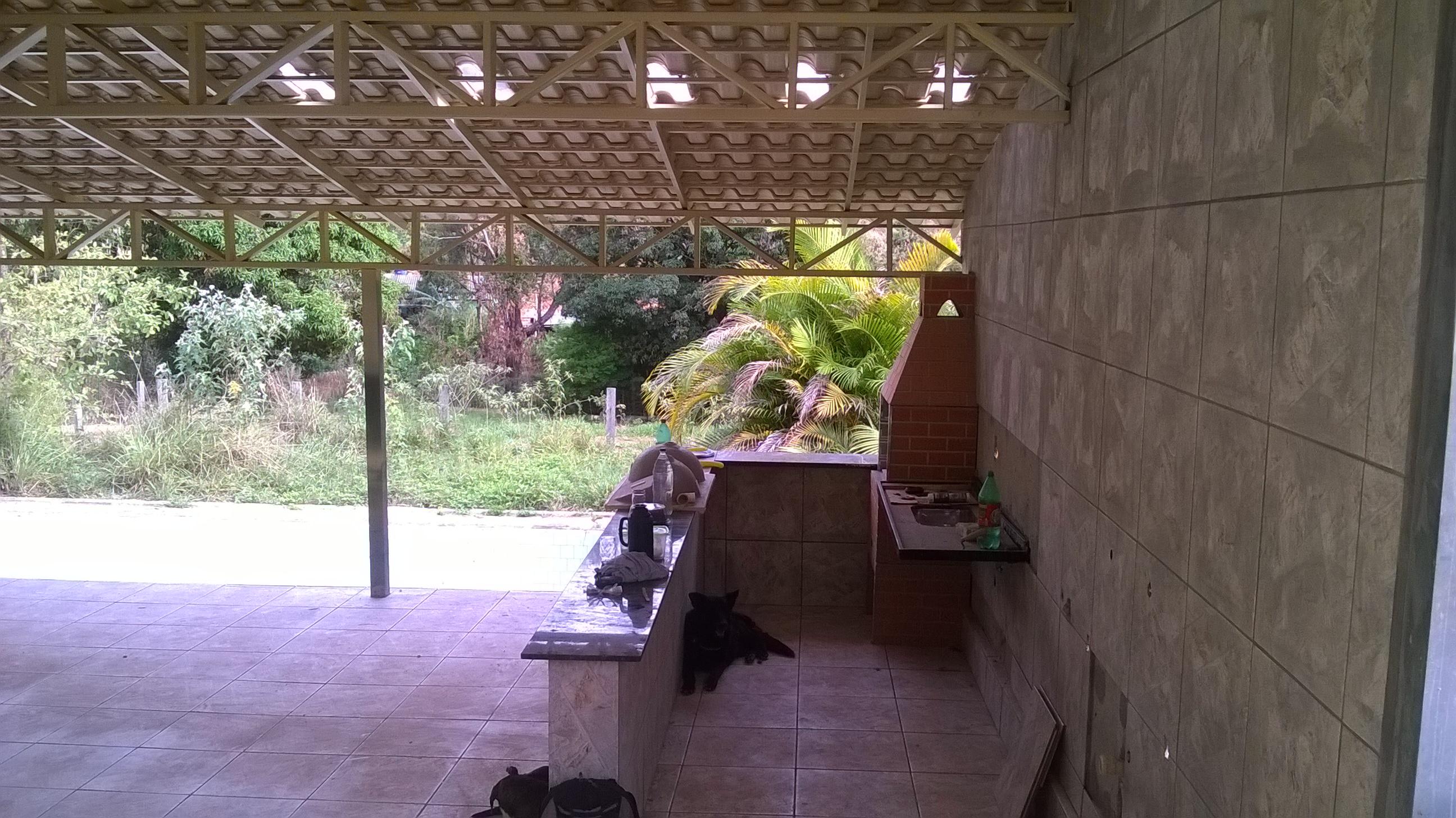 Área Lazer : Telhado, Piso, Bancada