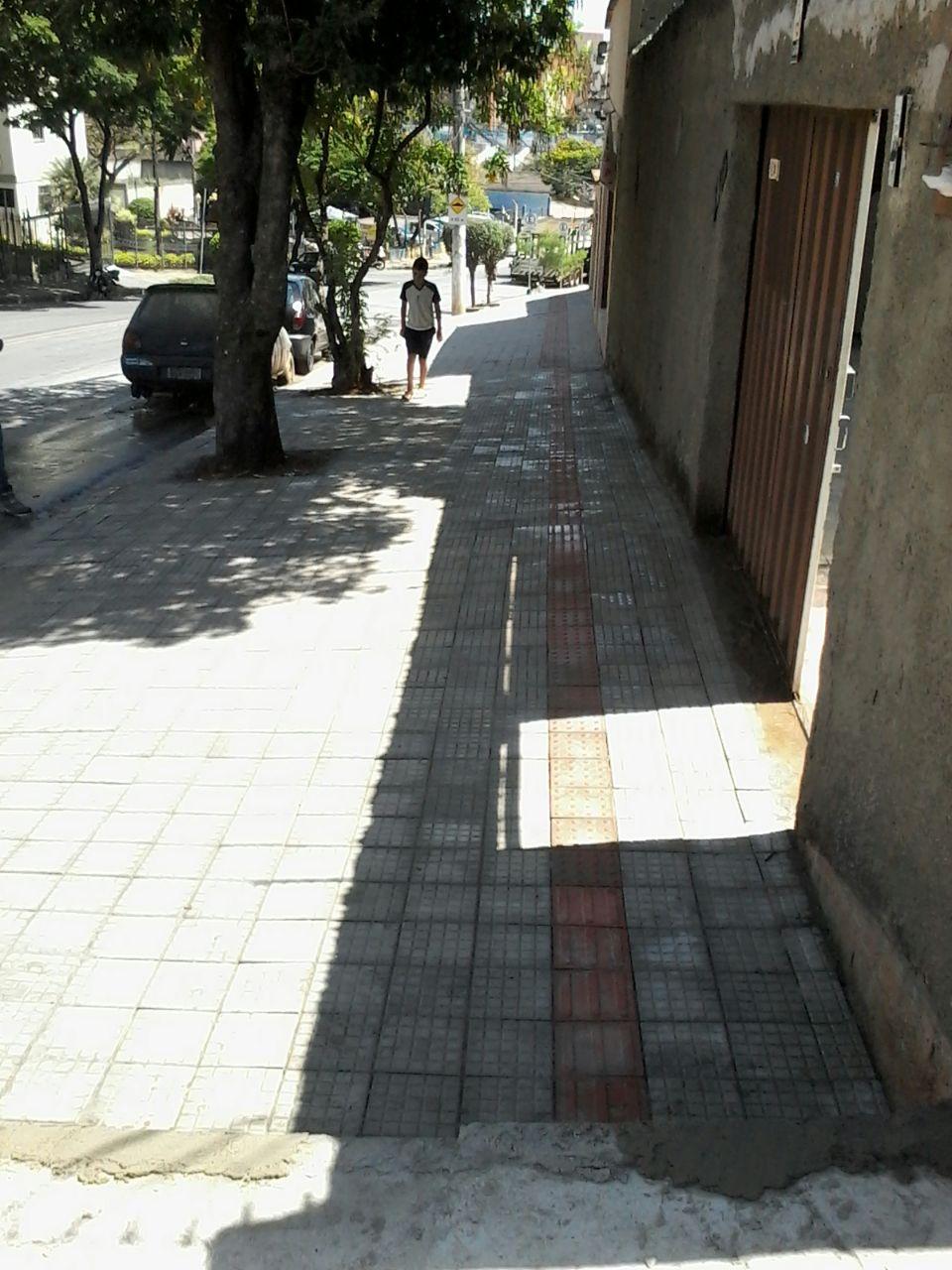 Projeto e Execução de Calçada