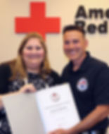 american red cross instructor award 2019