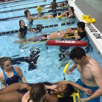 Lifeguard Backboard Rescue