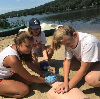 American Red Cross CPR for Professional Rescuer Waterfront Lake