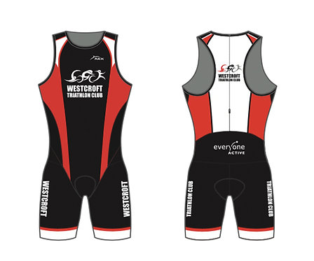 WTC Tri Suit Available from Westcroft Leisure Centre reception.