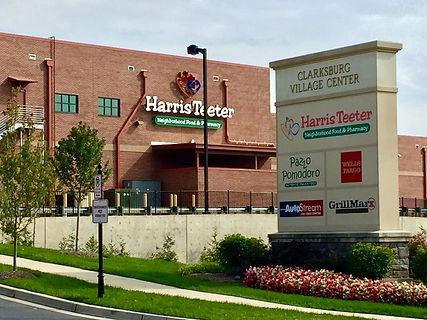 Aerial Clarksburg Retail sign Harris Teeter Bldg.jpeg