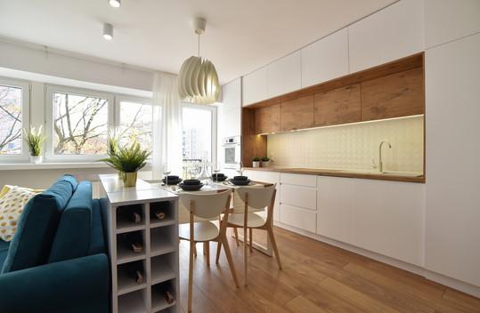 Mieszkanie inspirowane stylem skandynawskim