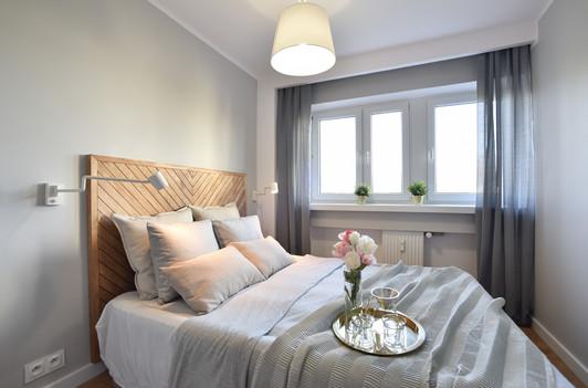 Sypialnia inspirowana stylem skandynawskim