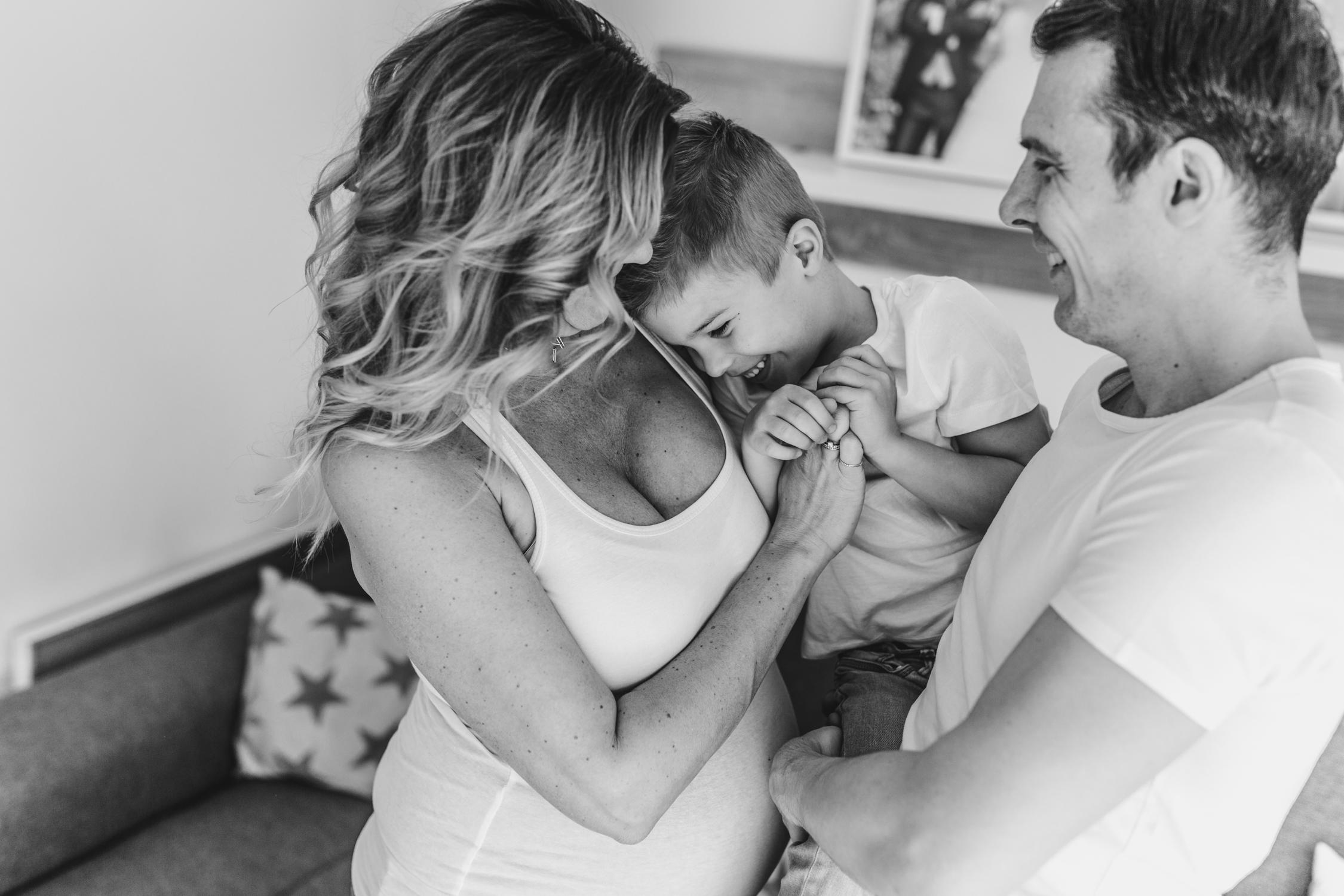Babybauchshooting Homestory