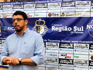 Presidente do Ricanato FC propõe reformulação do futebol no Tocantins