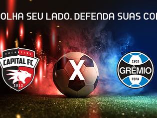 Capital FC finaliza últimos detalhes para a estreia na Copa do Brasil Sub-20 contra o Grêmio