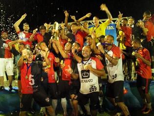 Chuva, suor e título: Capital FC é tricampeão Tocantinense Sub-19