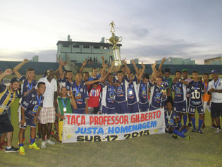 Ricanato é campeão estadual sub-17 invicto