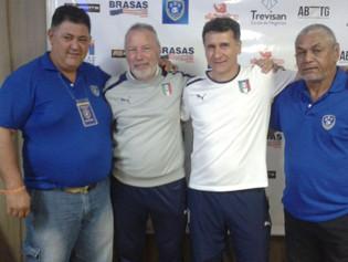 Representantes do Ricanato FC participam de curso internacional de futebol no Rio de Janeiro