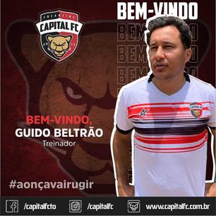 CAPITAL FC TEM NOVO TÉCNICO