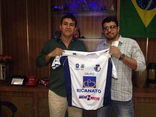 Atacado Meio a Meio fecha parceria com Ricanato Futebol Clube