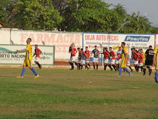 Vitória por 2 a 0 coloca Capital em vantagem sobre o Interporto na final do Sub-19