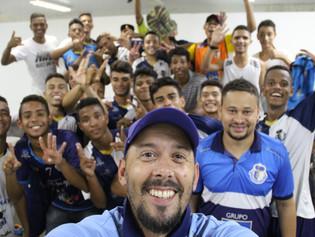 Ricanato FC goleia e se classifica invicto para as semifinais do Estadual Sub18