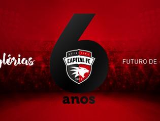 Capital celebra seis anos de história