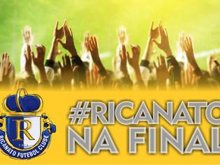 Ricanato está na final do Campeonato Tocantinense da Segunda Divisão