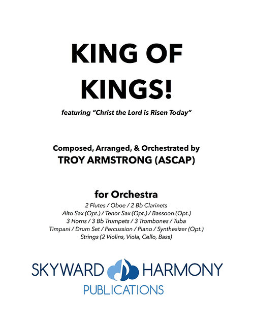 King of Kings! - for Orchestra
