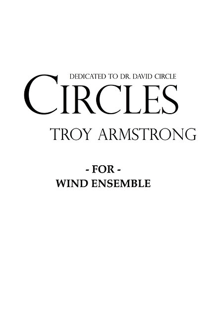 Circles - for Wind Ensemble