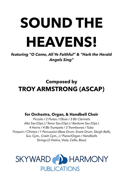 Sound the Heavens! - for Orchestra & Handbells