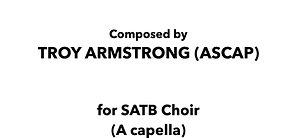 Agnus Dei (Lamb of God) - SATB A capella
