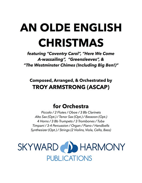 An Olde English Christmas - for Orchestra