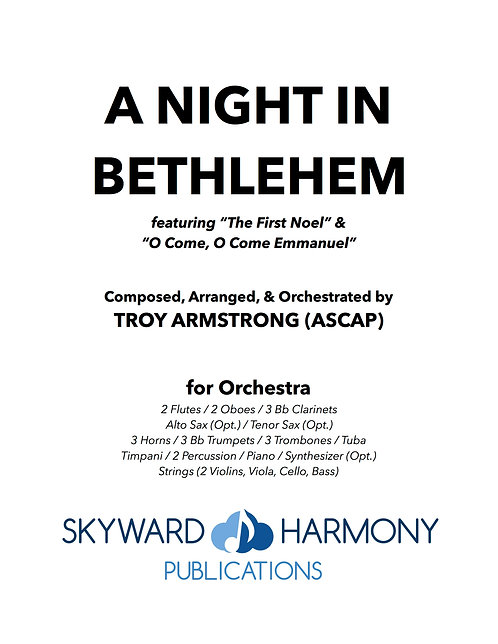 A Night in Bethlehem - for Orchestra