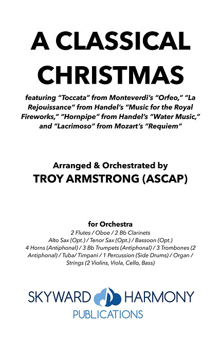 A Classical Christmas - for Orchestra
