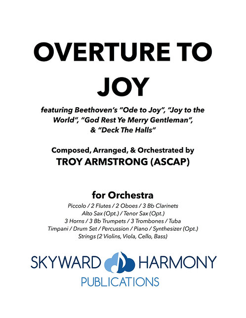 Overture to Joy - for Orchestra