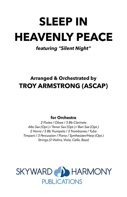 Sleep In Heavenly Peace - for Orchestra