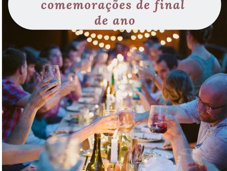 Como lidar com a alimentação durante as comemorações de final de ano