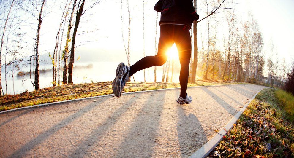 Corrida no inverno
