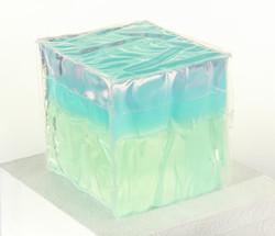 Blue Mint Cube