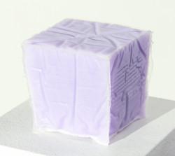 Opaque Lavender Cube
